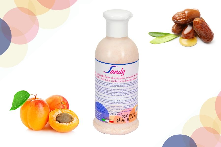 Photo Sandy Fruit Scrub